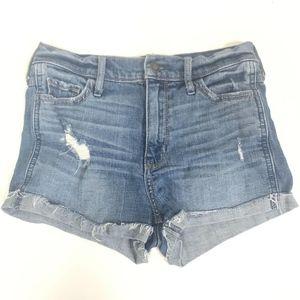 Hollister Women's Juniors High Rise Short Shorts